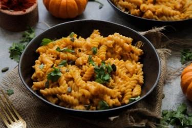 Pumpkin Mac and 'Cheese'