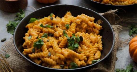 Pumpkin Mac and 'Cheese'