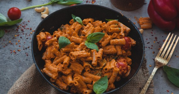 Creamy Red Pepper Pasta